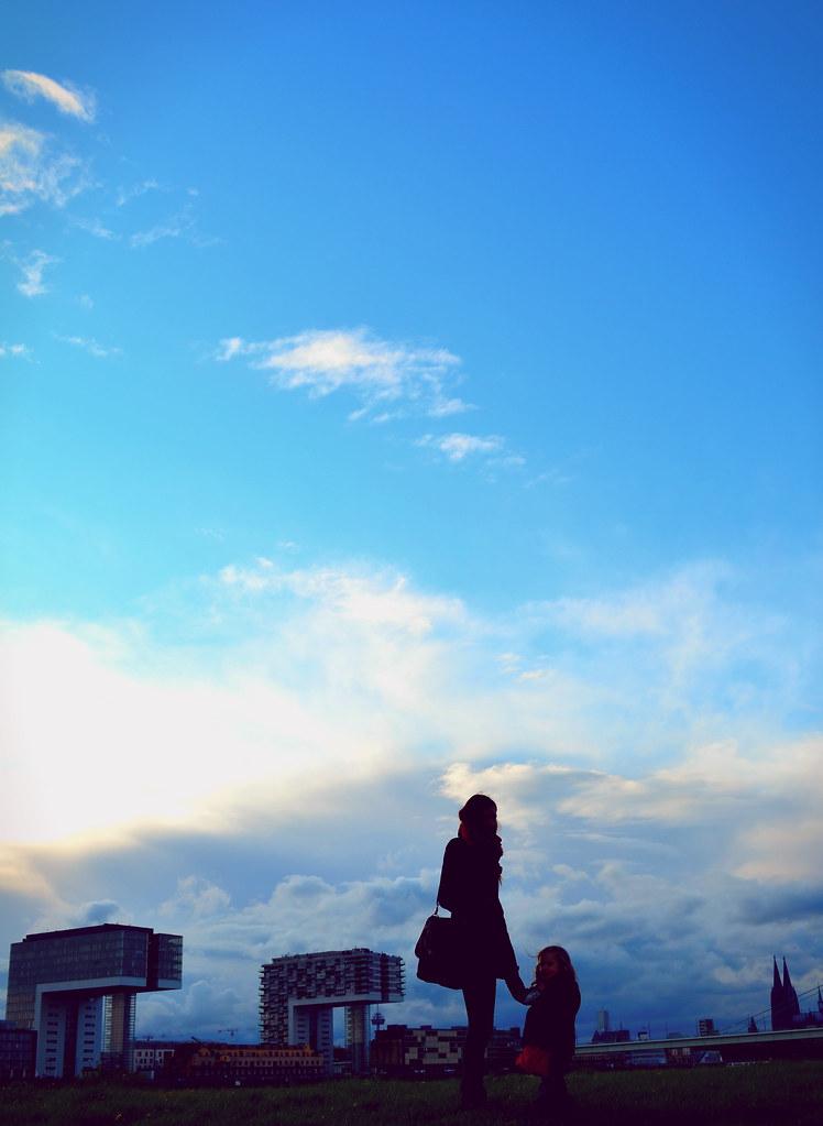 Ich finde die Wolkenburg im Hintergrund ziemlich beeindruckend.