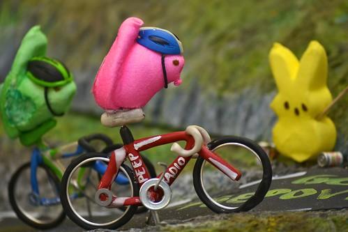 Peeps on Bikes