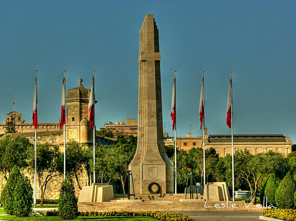 War Memorial, Floriana, Malta