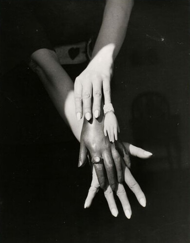 Claude Cahun, Les mains [Hands], Nantes, 1939 by JLQ831