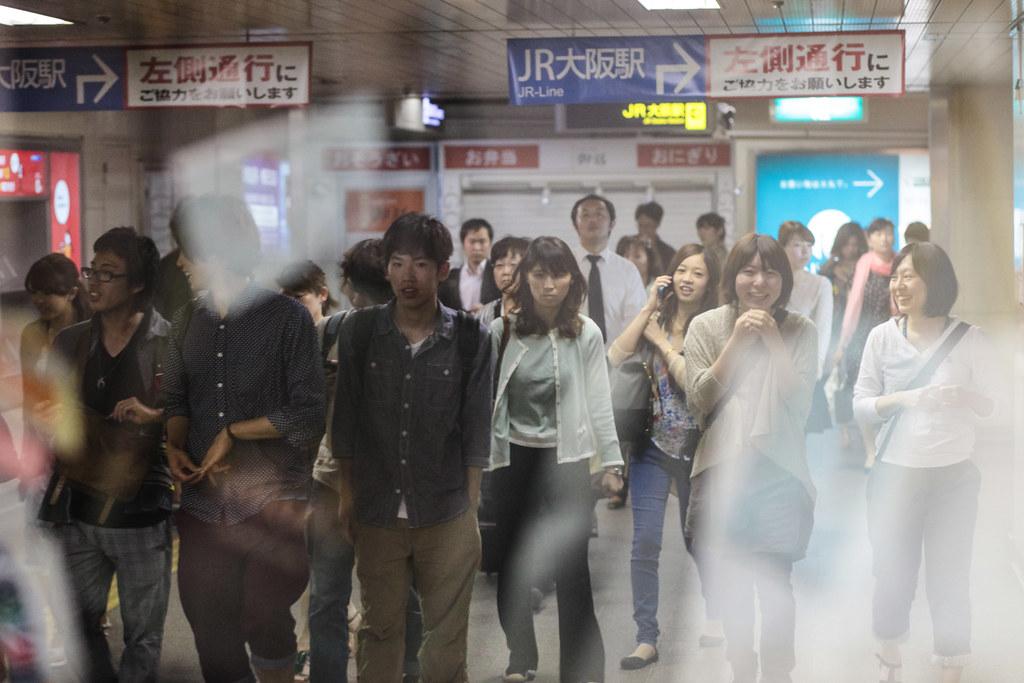 Shibata 1 Chome, Osaka-shi, Kita-ku, Osaka Prefecture, Japan, 0.01 sec (1/100), f/3.2, 85 mm, EF85mm f/1.8 USM