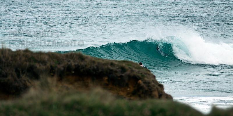 Una ola normal