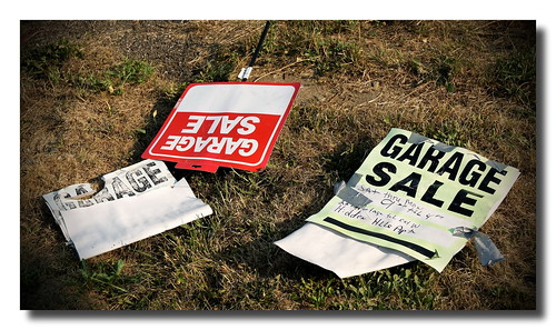 Garage Sales | by Mark Turnauckas