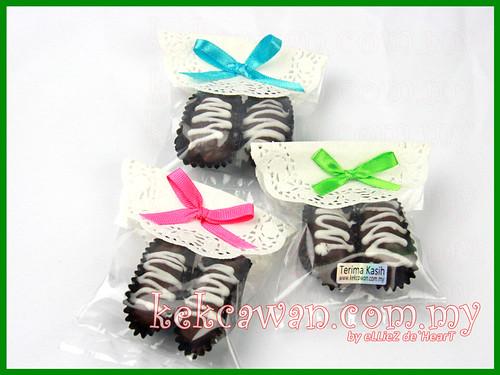 Kurma Coklat Badam - 2pcs Uncang