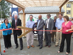 Spruce & Myrtle Ribbon Cutting