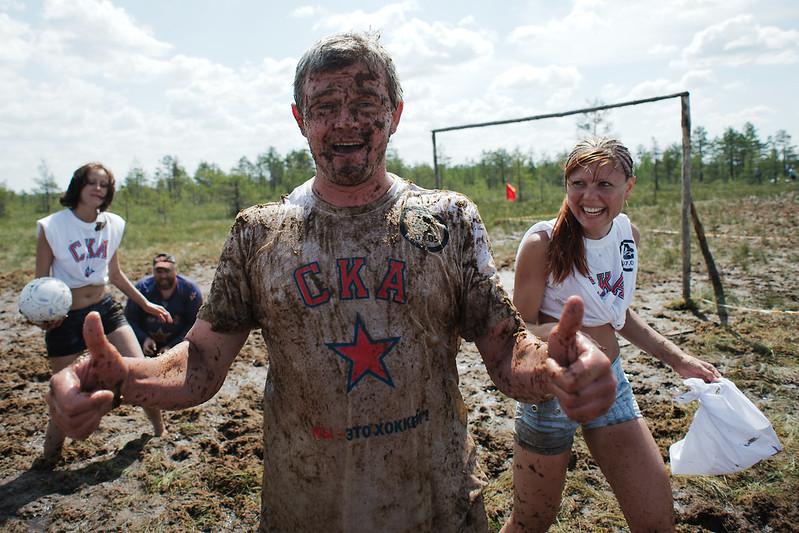 Чемпионат России пофутболу наболоте