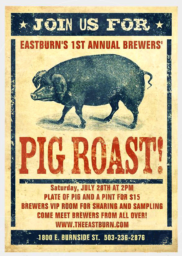 Pig Roast @ East Burn