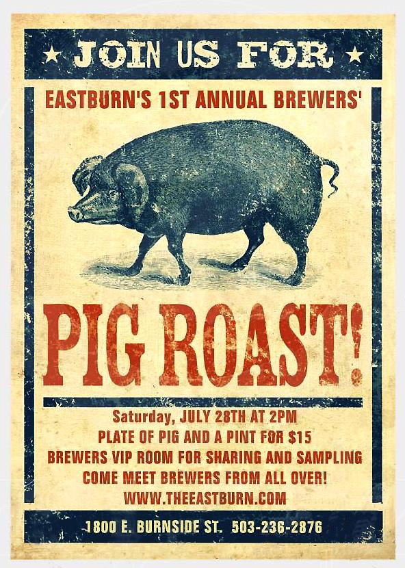 Pig Roast @ East Burn