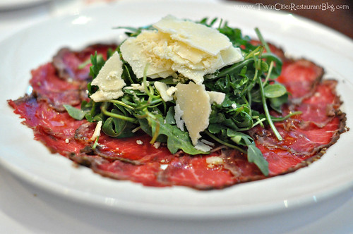 Beef Carpacio at The Capital Grille ~ Minneapolis, MN