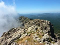 Sommet de Punta di Quercitella : vue vers le S et la suite de la crête