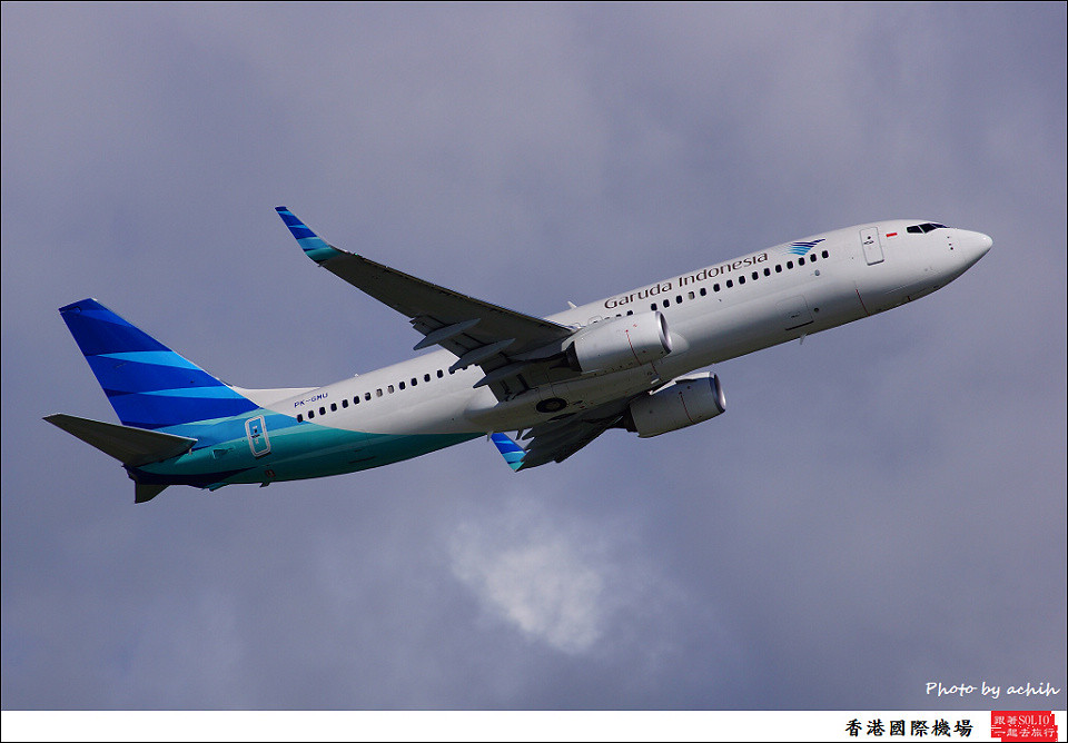 Garuda Indonesia / PK-GMU / Hong Kong International Airport