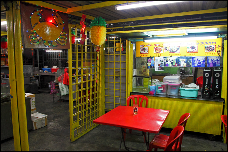 B Lui seafood -kepong