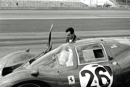 Lorenzo Bandini won the 1967 Daytona in another Ferrari 330P4