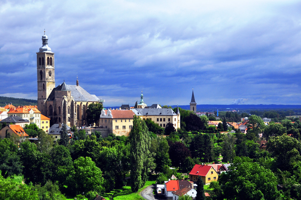 A Hill With A View...Czech's Kutna Hora
