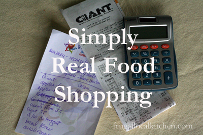 Real Food Shopping
