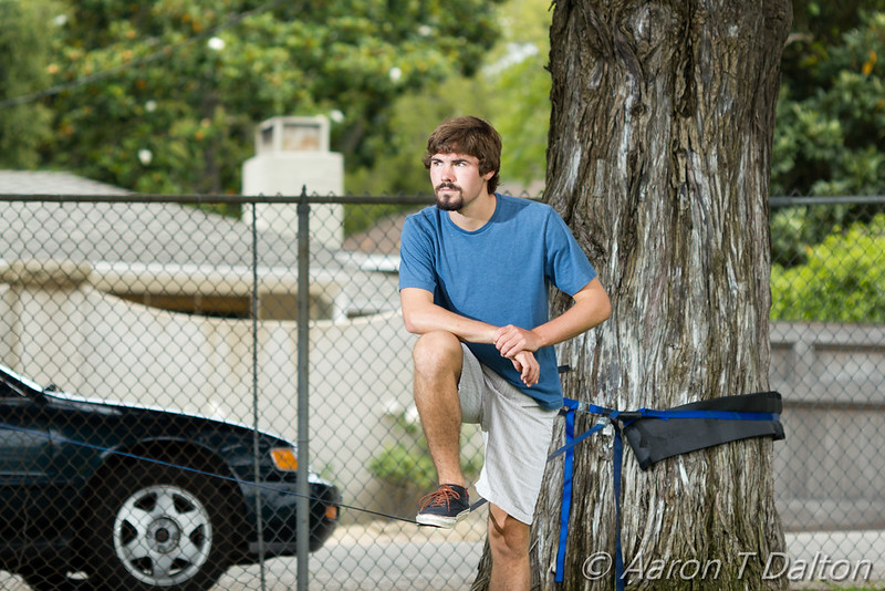 Thoughtful Before Slackline