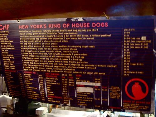 Crif Dogs (NY)