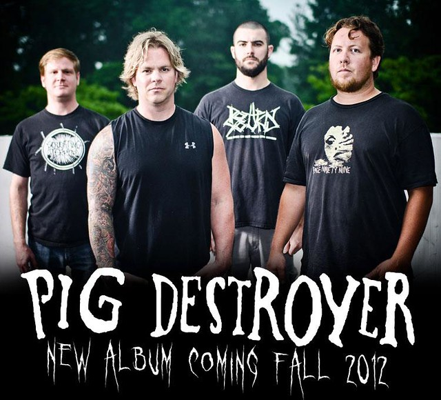 Pig Destroyer for Relapse Records