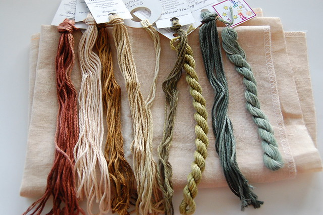 Silk threads for Sarah's House