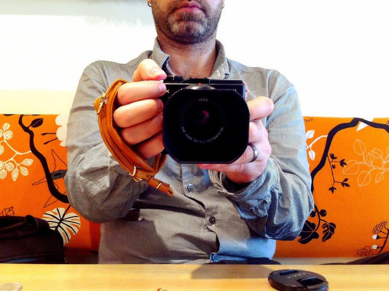 Aidan's new camera strap 3