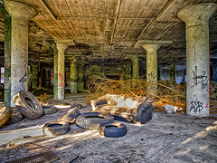HDR of the interior of the Old Westinghouse Factory