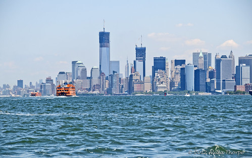 NYC harbor by Alida's Photos