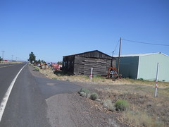 High desert barn