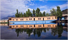 Srinagar Houseboat, India