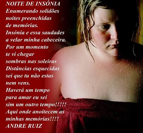 NOITE DE INSONIA by amigos do poeta