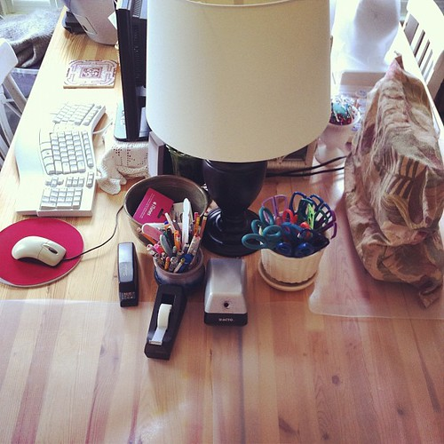 a place to create #creativespaces #studio #organizedmess #interiors #unschooling