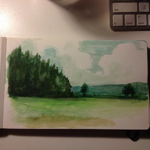 Sketchbook: Watercolor Moleskine (Germany)