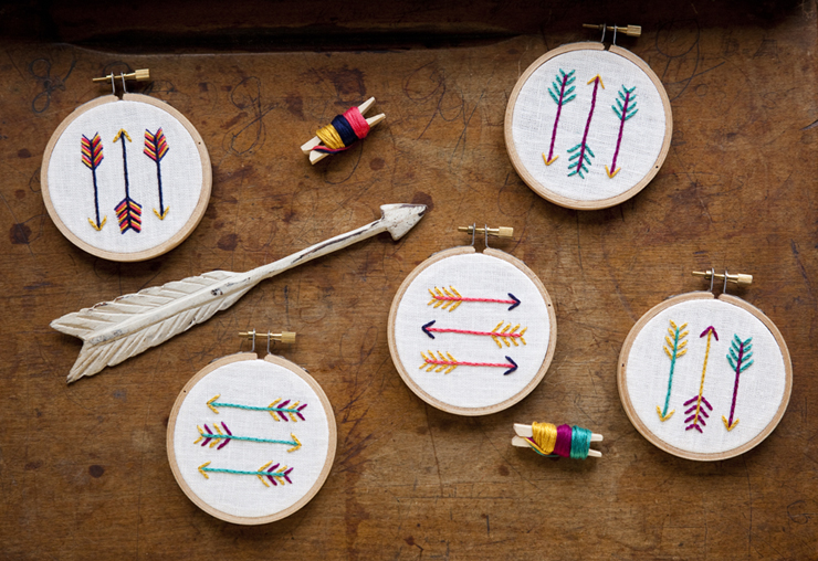 Arrow Embroidery Kits