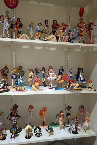 Anime figure collector