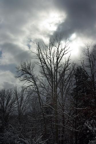 park winter sun snow cold southwest clouds dark virginia day kentucky ky va interstate through shining coulds breaks winterday southwestvirginia breaksva breaksvirginia