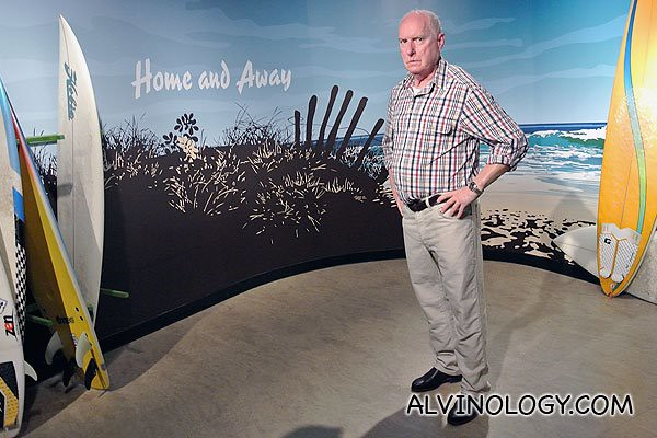 "Alfred James ""Alf"" Stewart is a fictional character from the Australian Channel Seven soap opera Home and Away, played by Ray Meagher"