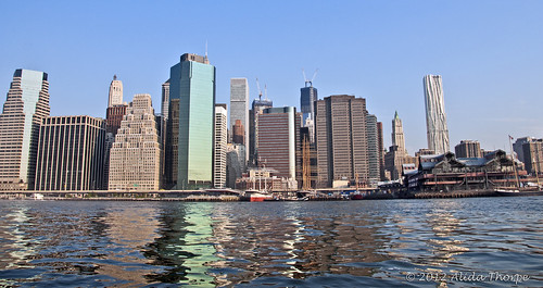 ny skyline seaport by Alida's Photos
