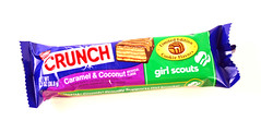 CRUNCH Girl Scouts: Caramel and Coconut
