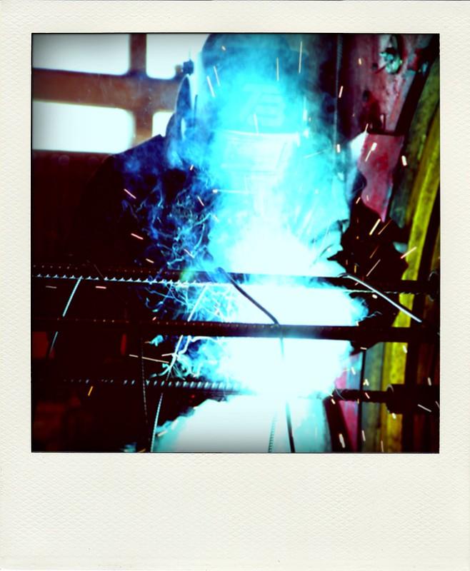 """""""O soldador"""" -  2012"""