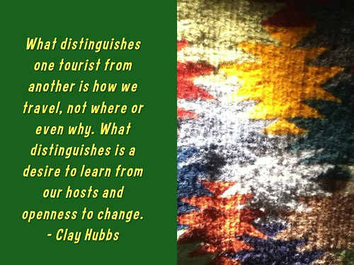 What distinguishes is a desire to learn from our hosts and openness to change - Clay Hubbs @TransAbroad