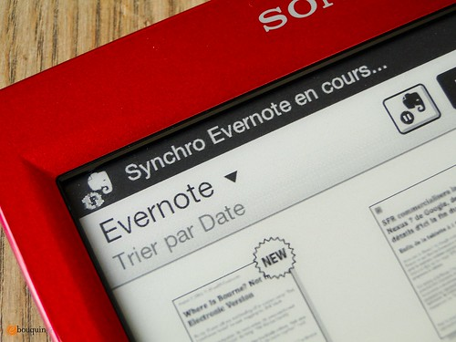 Synchro Evernote