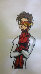 Impulse- Bart Allen Cross Stitch