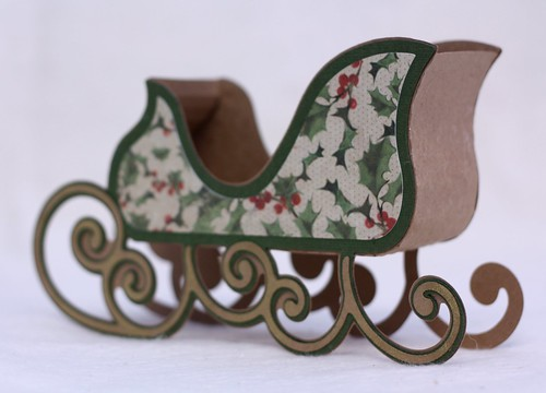 Sleigh Treat Holder