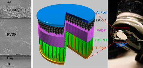 Самозаряжающийся литий-ионный аккумулятор генерирует и сохраняет энергию