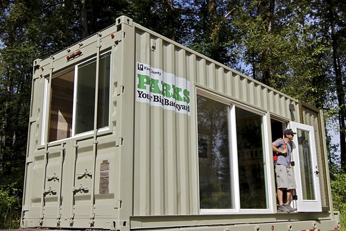 Camp In A Shipping Container Urbnlivn