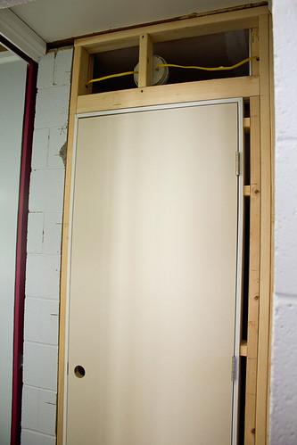 Installing Pre Hung Door Concrete Block Backupervital