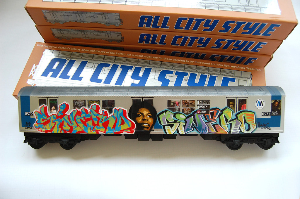 """All City Style"" New York City Subway Car"