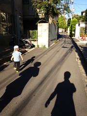 朝散歩 (2012/8/23)