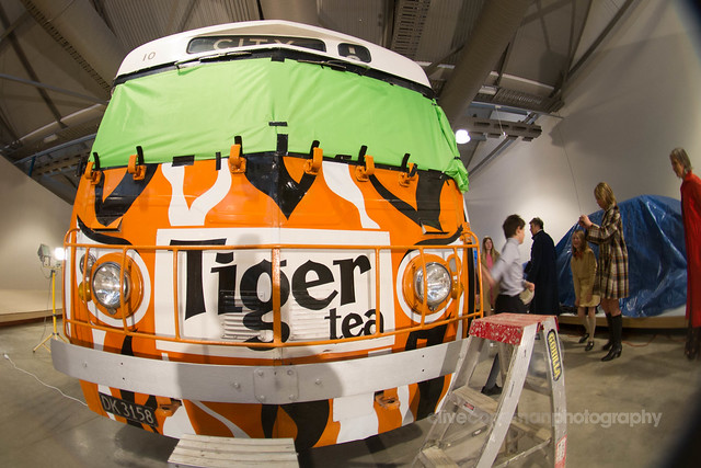 The Tiger Tea Bus