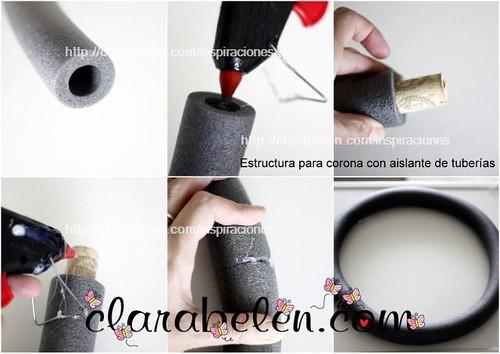 Inspiraciones manualidades y reciclaje corona de - Manualidades faciles para vender paso a paso ...
