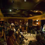 Sun, 04/11/2012 - 9:53pm - Music, wine and food with big-hearted artists and contributors, November 4, 2012. The Highline Sessions at Del Posto are hosted by Rita Houston and Joe Bastianich. Photo by Laura Fedele